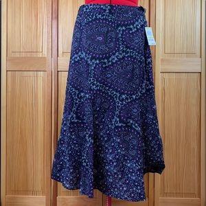 Charter Club Purple Milano Skirt